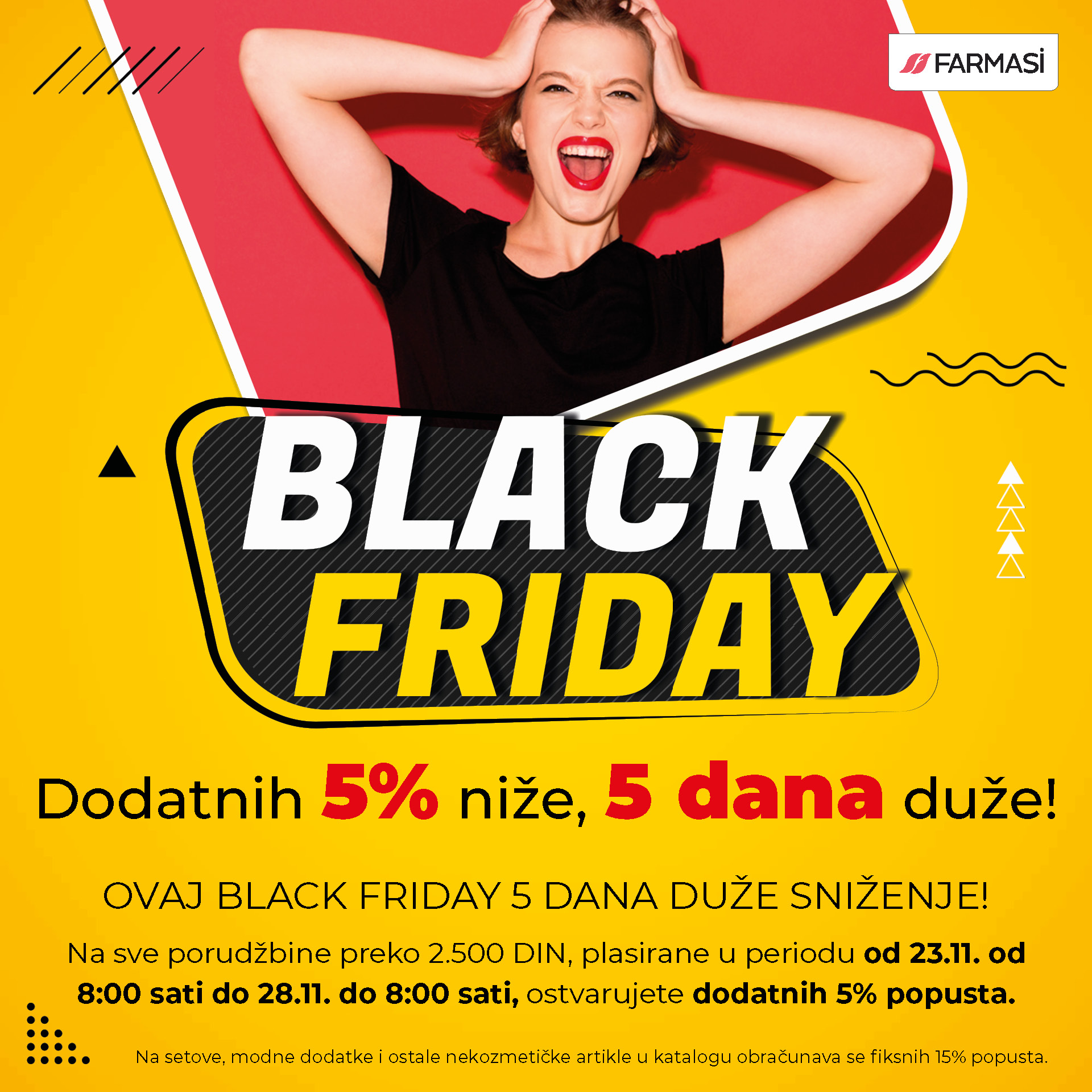 SRB black friday 5 posto